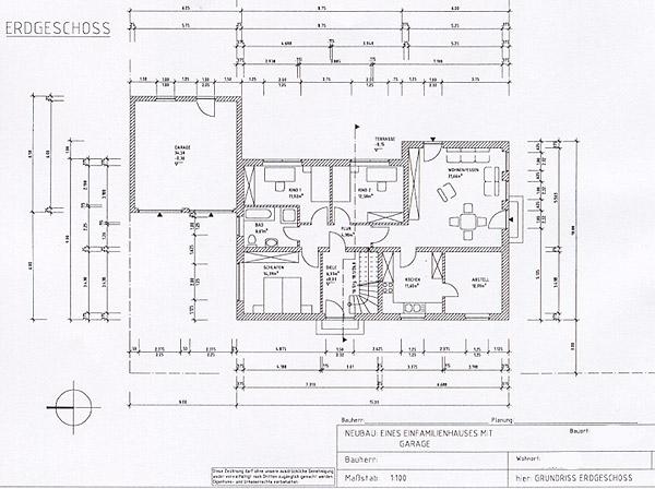 Bauplan einfamilienhaus einfamilienhaus mit glasfassade for Einfamilienhaus bauplan